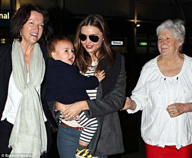 Miranda Kerr baby and family